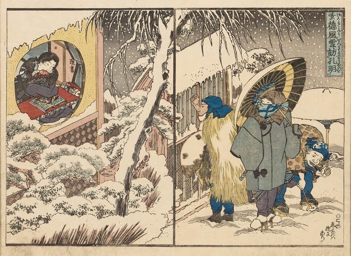 冬にセックスしちゃダメ!江戸時代はセックスできる日が少なすぎた件/春画―ル