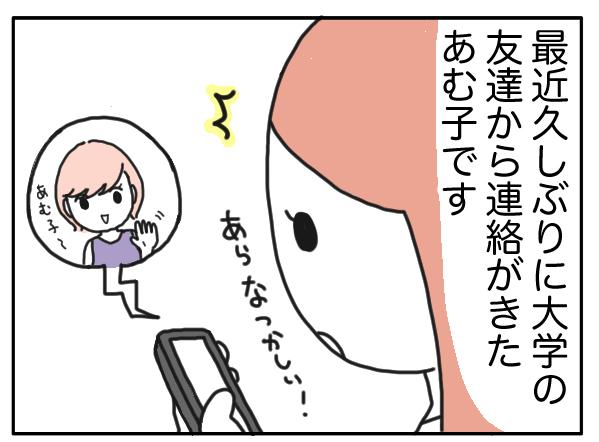 【漫画】忘れかけてた過去…女子大生時代のダメンズ合コンを振り返ります/あむ子の日常