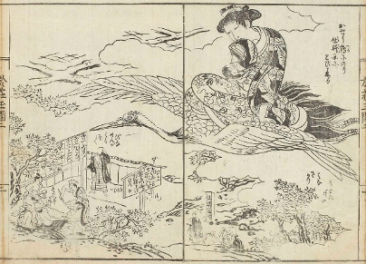 地面から男根が生えている国?スケベな江戸ファンタジー「春本」を読んでみよう