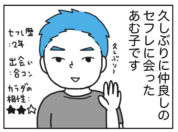 【漫画】セフレは魔法使い?イッた瞬間に出るはずのものがないと思ったら…/あむ子の日常